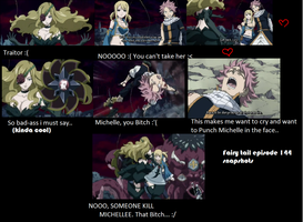 FAIRY TAIL EPISODE 144 SNAPSHOT MICHELLES A BADASS by Faithwoe