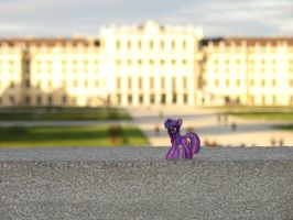 Twilight Sparkle at Castle Schoenbrunn in Vienna by CMC--Scootaloo