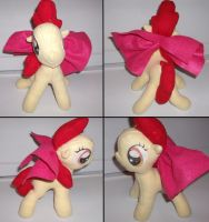 Apple Bloom Plushie by Lolly-pop-girl732