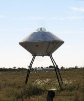 Alien Spaceship by cemacStock