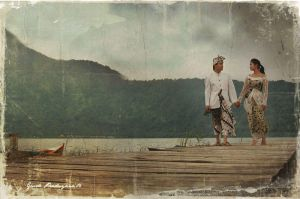 balinese couple by pistonbroke