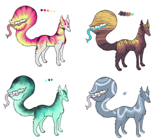 Tail biter adopts by lunumi
