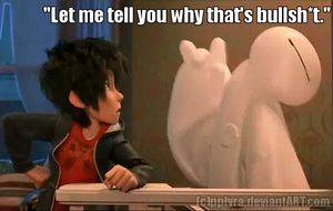 Baymax doesnt like your BS by Alien-Snowflake