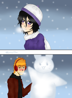 .: CE: Together in the Winter by ran-chu
