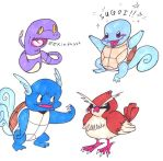 Gen. 1 Pokemon Quartet by BAppleJuice