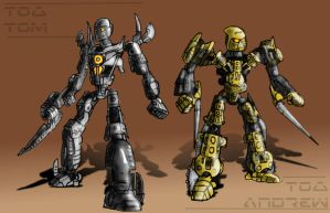 Toa Tom and Toa Andrew by ToaTom
