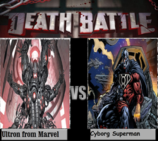 Ultron From Marvel Vs Cyborg Superman from DC by newsuperdannyzx