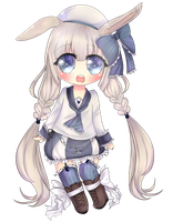 :AT: AQUA-bunni: by Kiwii-tan
