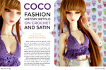 DollTrends Magazine ~ Coco's Interview (1) by musumedesu