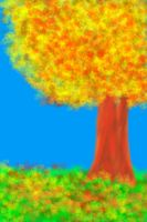 The tree by Flowers012