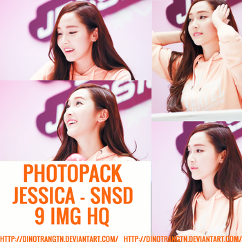 PHOTOPACK #57 SNSD JESSICA by dinotranGTN