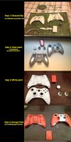 Star Wars Custom Xbox 360 Controller by burps20