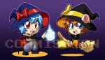 Chibi Halloween pic for impulsiveknowledge by rongs1234