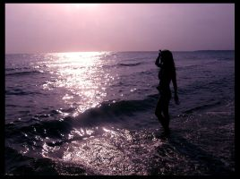 Lady by the Sea by Lilithia