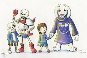 Undertale by Kanis-Major