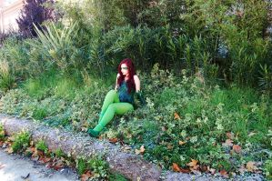 Poison Ivy cosplay. by MitsuYomi