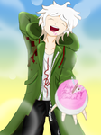 Oh how embarrassing, Komaeda by FuryX-4