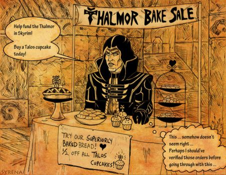 Thalmor Fundraising by SlayerSyrena