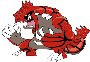 383 - Groudon by Winter-Freak