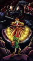 The legend of Zelda by Evanatt