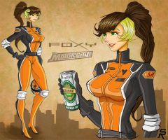 Foxy in MOTORCITY. by SRYMoND