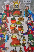 Fighters' Feast by StealthNinja5