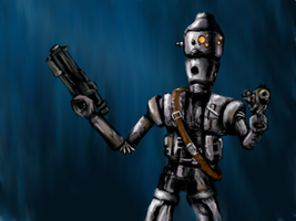 IG-88 by ARTforNERDS