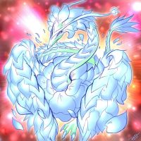Blue Blossom Dragon by Raphtil