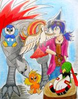 My Pokemon Team by Noellisty