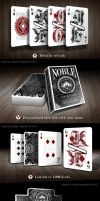 Noble Playing Cards by NicolaiAaroe