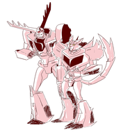 .:Thunderhoof and Steeljaw, againnnnnn:. by JACKSPICERCHASE