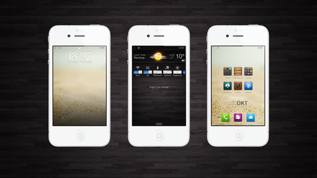 iOS 5 theming by Cophish