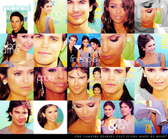 the vampire diaries icons by mia47