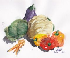 Vegetables by Glorfindelle