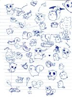 Doodles... by GG-lover