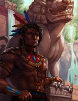 Anan the Lion by adrhaze