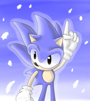 Classic Sonic by Latiar027