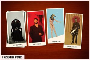 a wicked pack of cards by neopren