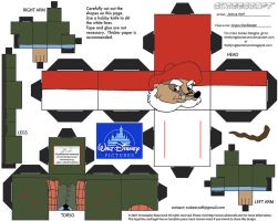 Dis50: Angus MacBadger Cubee by TheFlyingDachshund
