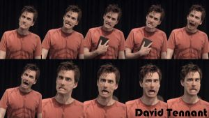 David Tennant as Hamlet by BeatriceCoffee