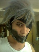Metal Gear Rising Revengeance - Make up WIP by karlonne