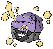 Mafia Boss Koffing by safariblade