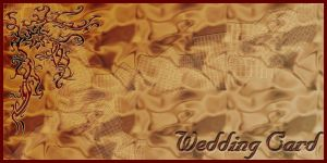 Wedding Card by dimplegal