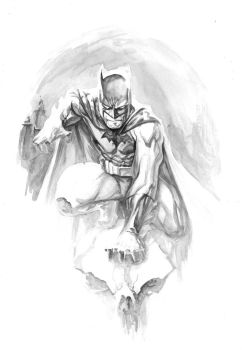 Bats in Gray by TomRaney