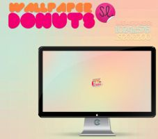 Wallpapers Donuts by Ihavethedreamersdise