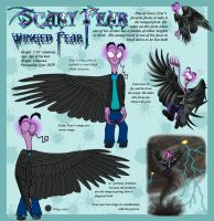 Winged Fear Character Sheet V2 by Leeanix