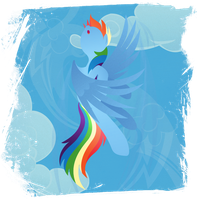Rainbow Dash - Reach the Sky by Rariedash