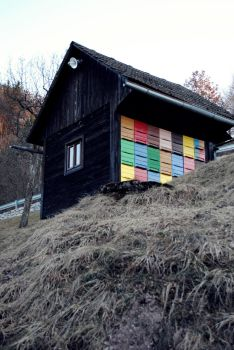 Colorful apiary by ReallyBadFeeling