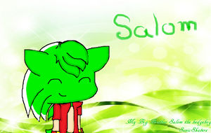 Salom The hedgehog by SonicSkaters