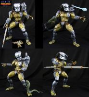 Alien vs Predator Arcade Warrior figure by Jin-Saotome